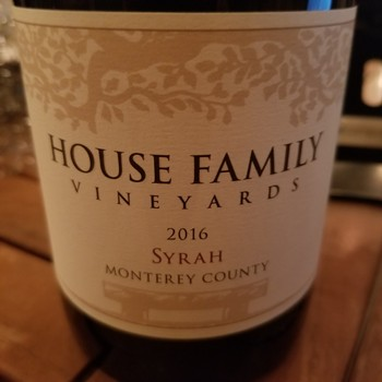 2016 Coastview Vineyard Syrah